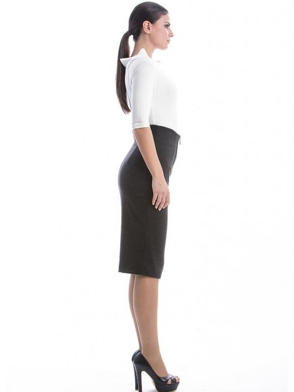 Стилна пола с висока талия CONQUISTA