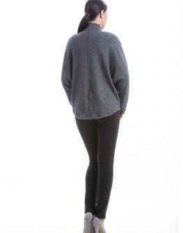 Дамска жилетка в сиво CONQUISTA