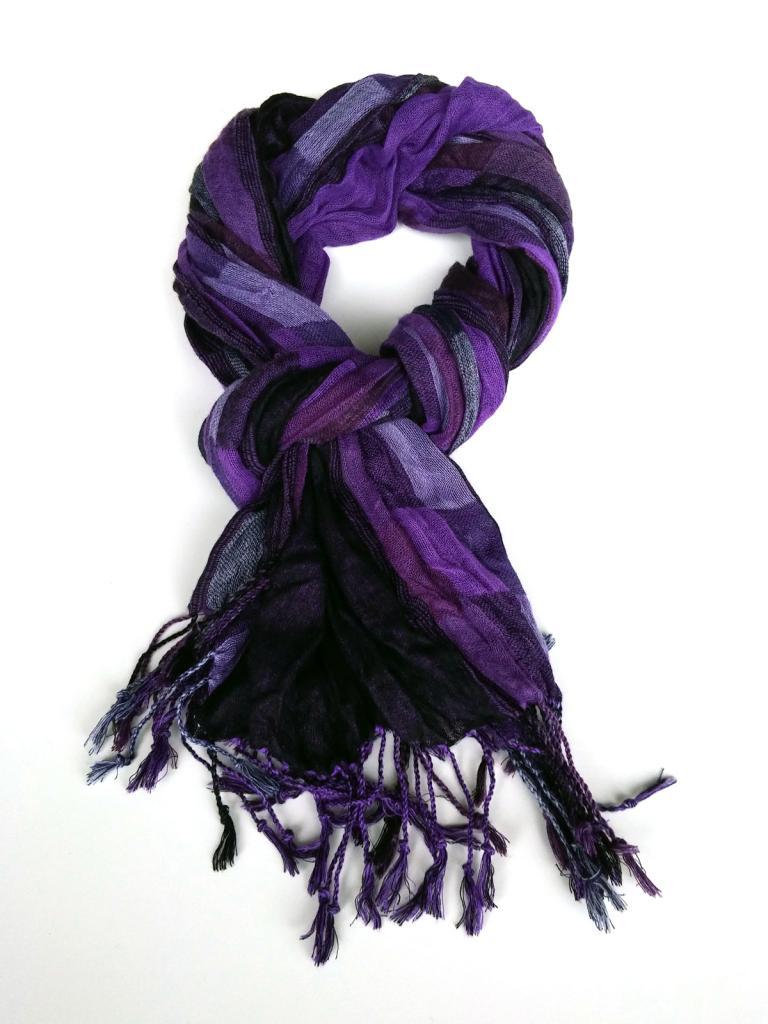 Ефектен шал Styler в лилаво