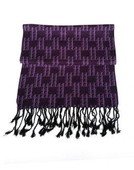 Елегантен шал в лилаво Styler
