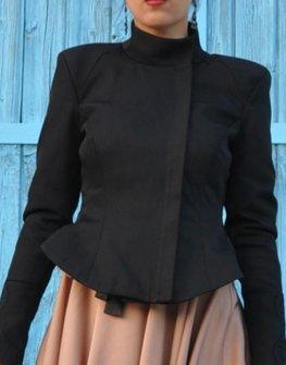 Черно дамско яке Jools