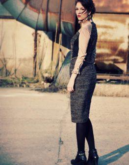 Елегантна рокля Christina