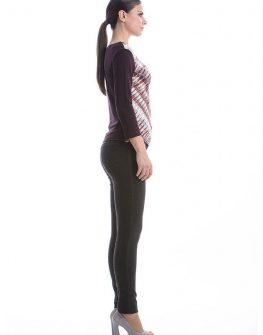 Стилна дамска блуза с дълъг ръкав CONQUISTA