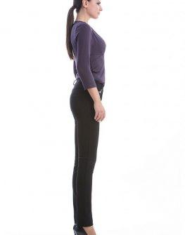Елегантен дамски панталон в черно CONQUISTA