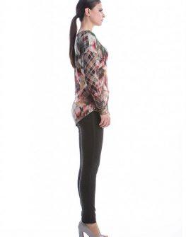 Дамска блуза с флорални елементи CONQUISTA