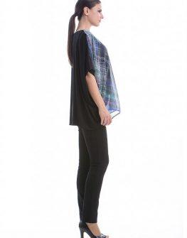 Асиметрична блуза със свободна кройка CONQUISTA