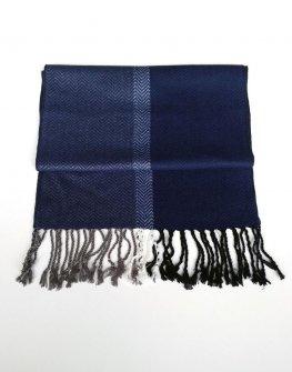 Стилен шал Styler в синьо
