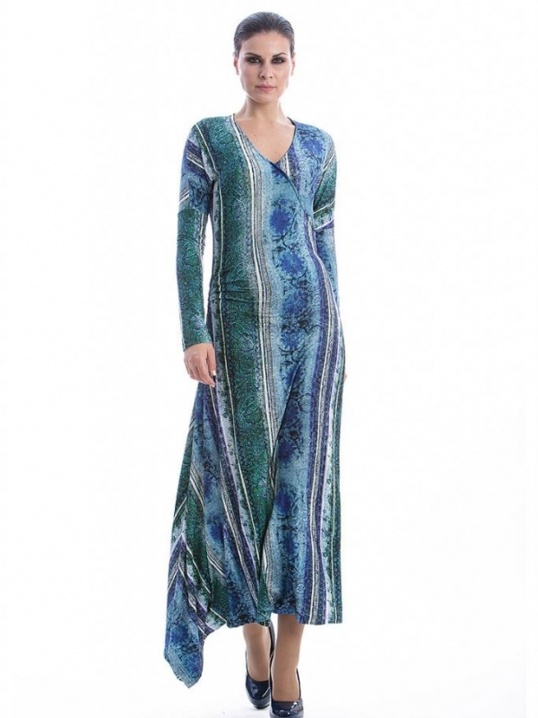 Дълга дизайнерска рокля CONQUISTA