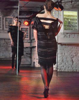 Плетена дизайнерска рокля La Speciale