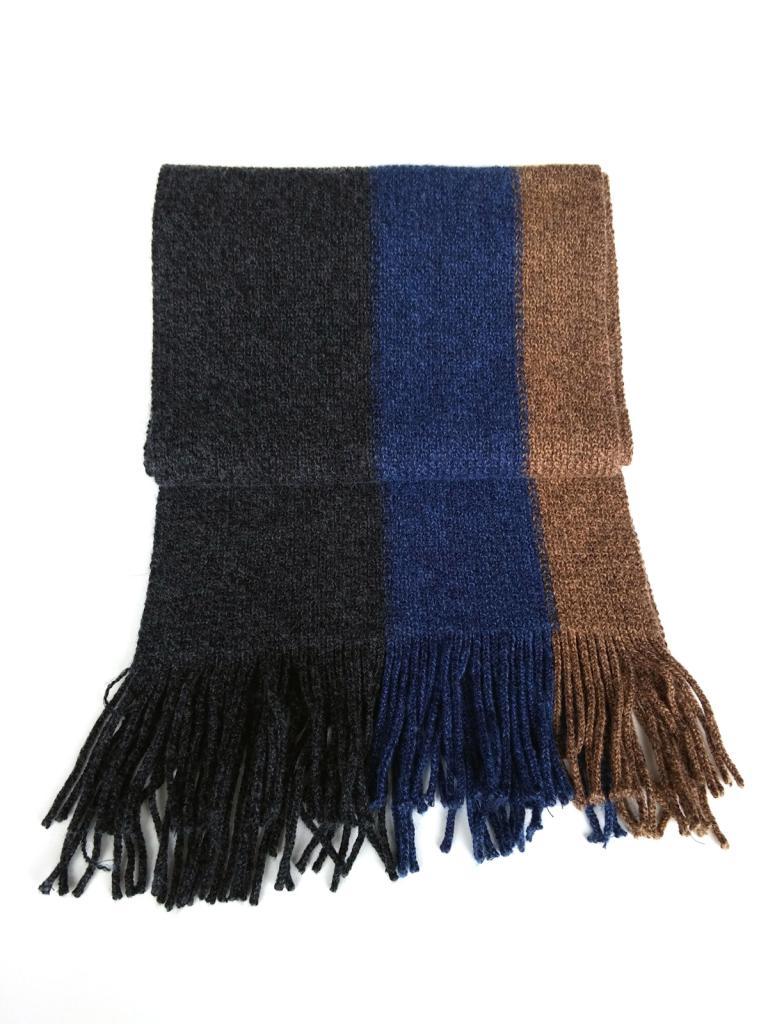 Зимен шал в три цвята Styler