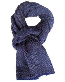 Спортно – елегантен шал в синьо Styler
