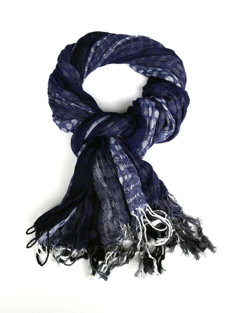 Стилен шал в син цвят Styler