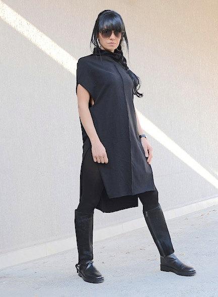 Дизайнерска рокля с поло яка Kotyto