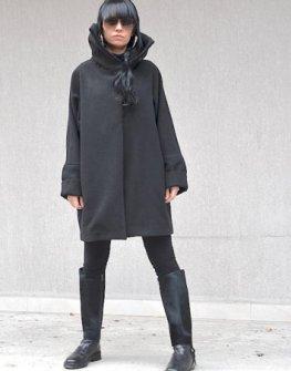 Дамско палто с висока яка Kotyto