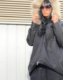 Дизайнерско черно яке Kotyto