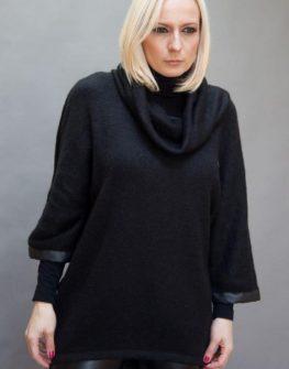 Плетен дизайнерски пуловер Aggata