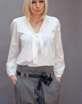 Ефирна копринена риза Aggata