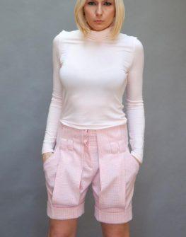 Къс вълнен панталон Aggata