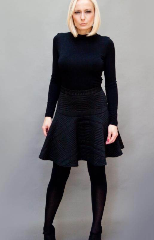 Класическа дамска блуза с поло яка Aggata