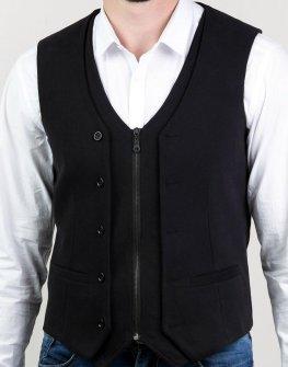 Мъжки елек в черен цвят Styler