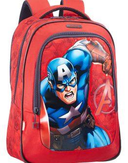 Раница за училище с Капитан Америка