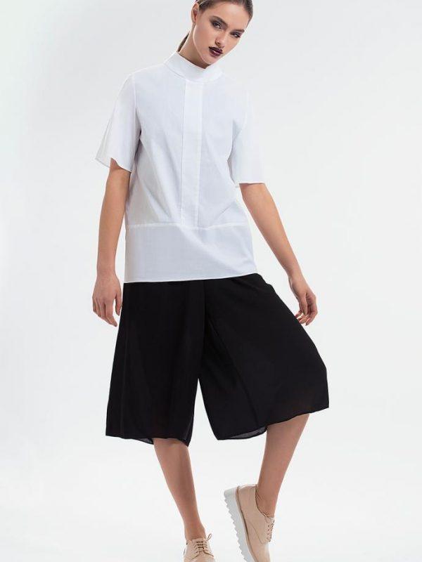 Ефектна дамска риза в бял цвят Pulse