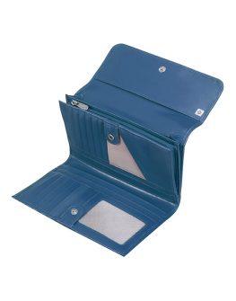 Дамски портфейл в синьо Samsonite