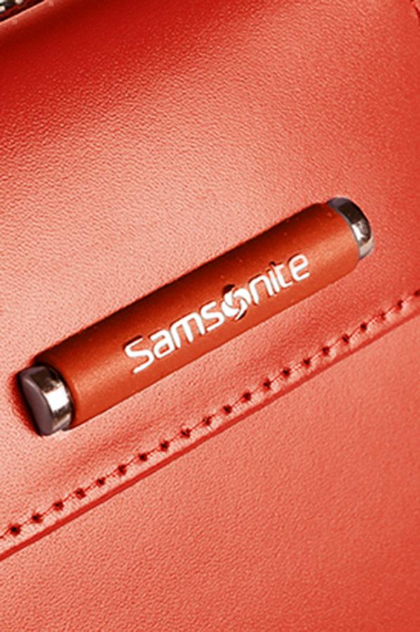 Стилен портфейл в червено Samsonite