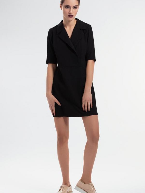Елегантна черна рокля Pulse