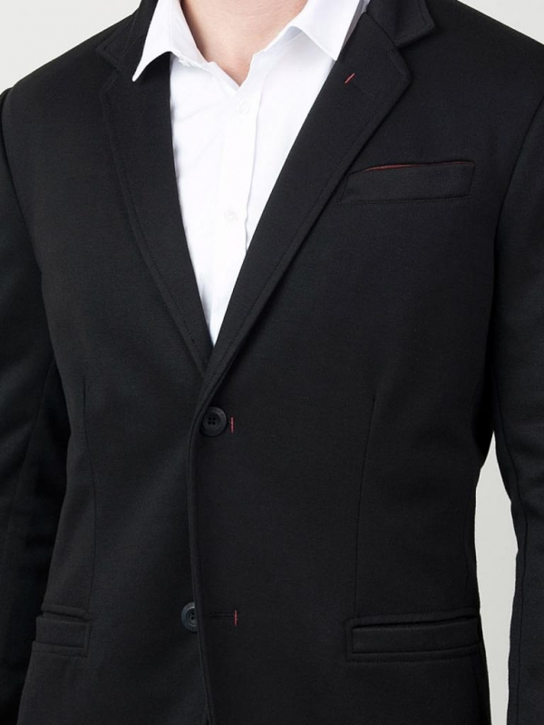 Черно спортно - елегантно сако Styler