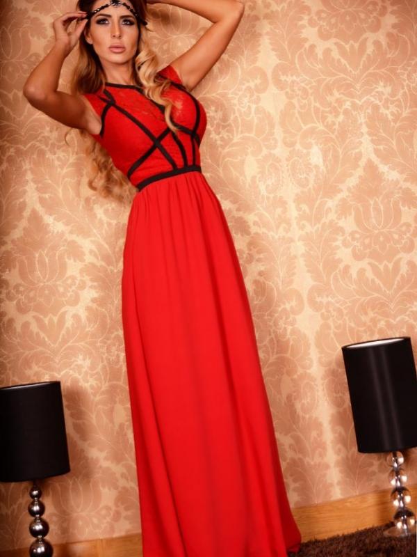 Елегантна дълга рокля DPmoda