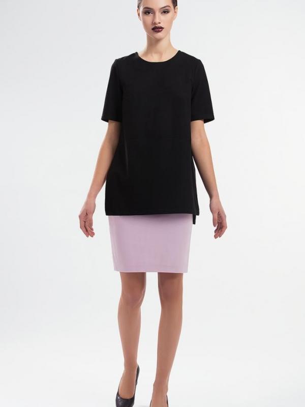 Ефектна дамска блуза в черно Pulse