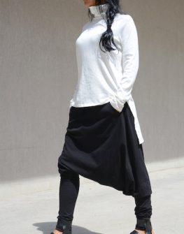 Стилно дамско поло в цвят екрю Kotyto