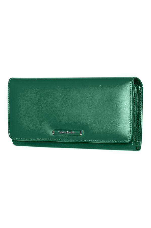 Зелен портфейл Samsonite