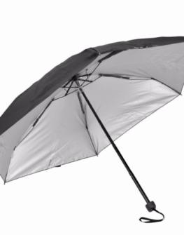 Ръчен чадър Samsonite в черен цвят