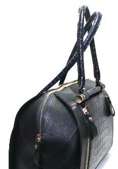 Стилна дамска чанта в син цвят Sara Pen