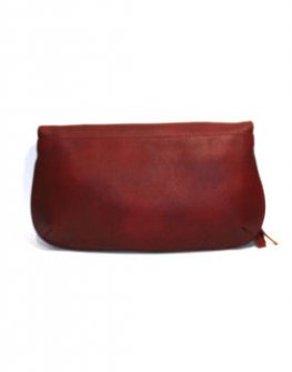 Ефектна дамска чантичка в червено Sara Pen