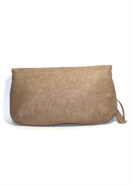 Малка дамска чантичка в бежово Sara Pen