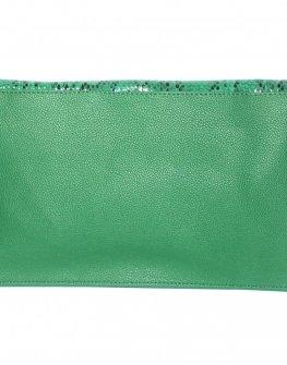 Дамски плик в зелено Sara Pen