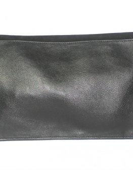 Красива дамска чанта - плик в черно Sara Pen