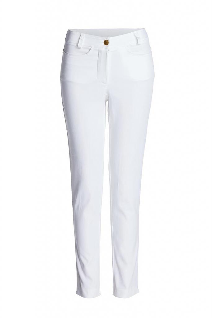 Бял дамски панталон Conquista