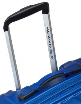 Голям куфар на 4 колела в син цвят Air Force 1
