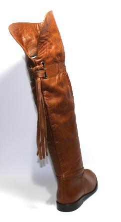 Дамски ботуши Sara Pen от естествена кожа