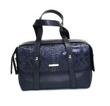 Дамска елегантна чанта в синьо Sara Pen