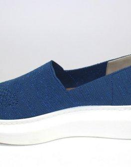 Дамски обувки без връзки в синьо Sara Pen
