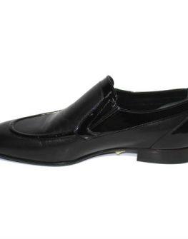 Мъжки обувки от лак и естествена кожа Sara Pen