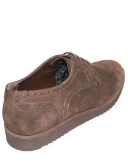 Изчистени мъжки обувки Sara Pen в кафяво