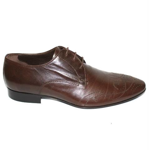 Мъжки обувки Sara Pen в кафяв цвят