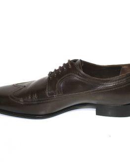 Мъжки обувки Sara Pen от кафява естествена кожа
