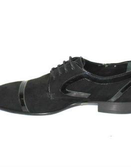 Стилни мъжки обувки от велур Sara Pen